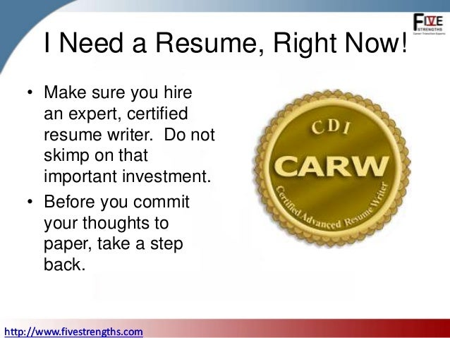 Stop You Don'T Need An Executive Resume To Start Your Executive Job S…
