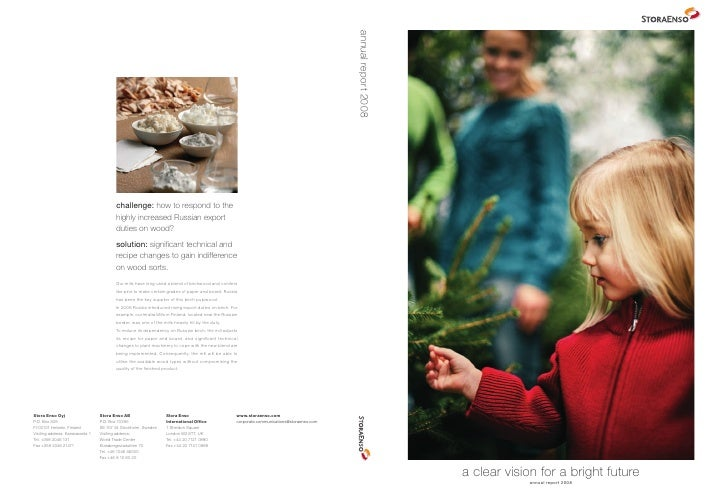 a clear vision for a bright future             annual report 2008