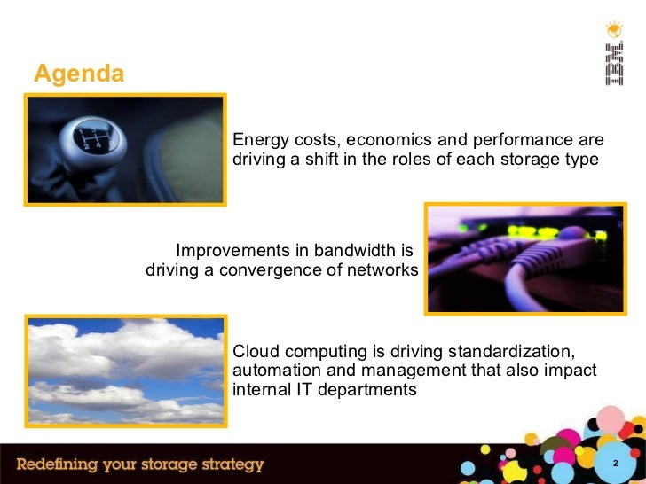 Agenda Cloud computing is driving standardization, automation and management that also impact internal IT departments Impr...