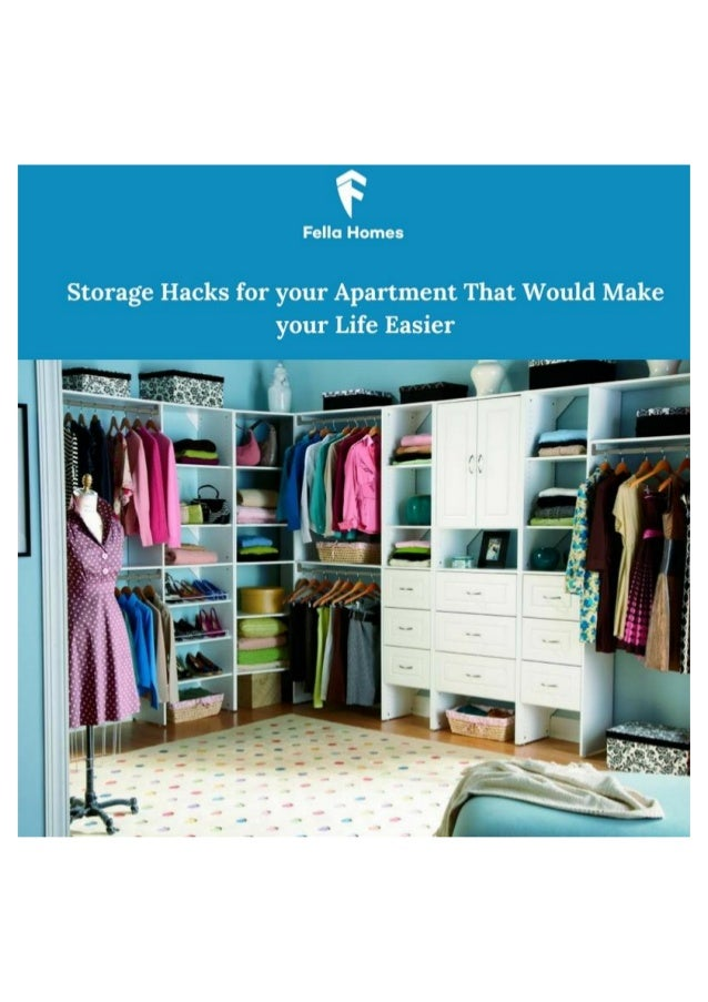 Storage hacks for your apartment that would make your life easier