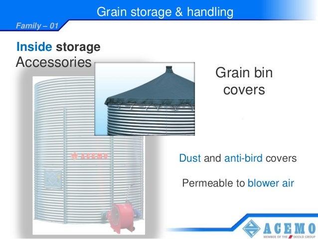 Storage handling cereales presentation 2012 uk