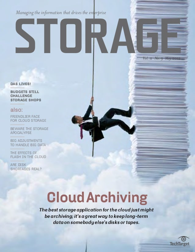 Managing the information that drives the enterprise Storage                                                      Vol. 11 N...