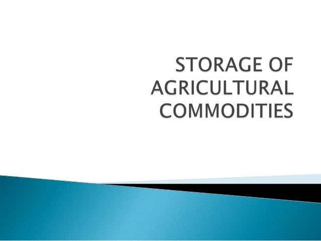    It is estimated that in the tropics each year    between 25 and 40% of stored agricultural    products is lost because...