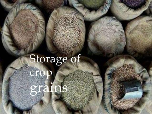 Storage ofcropgrains