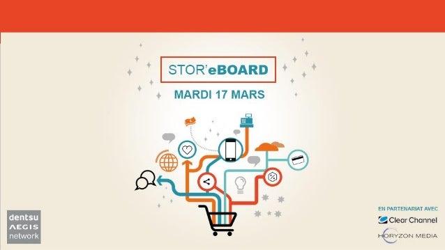 RESULTATS Enquête Exclusive STOR'eBOARD 3 SCÉNARIOS