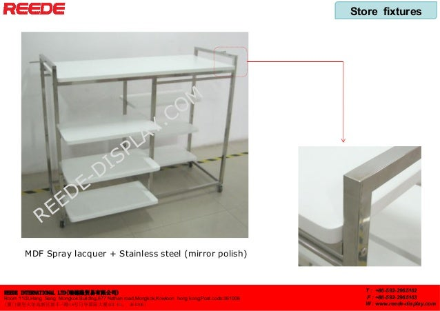 Store fixtures from Reede Slide 2