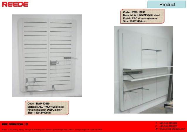 Store fixtures from Reede Slide 3