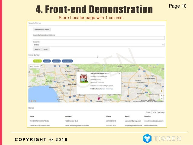 user guide how to show stores in google maps in magento 2 magento rh slideshare net google maps user guide iphone google maps user guide iphone 2018