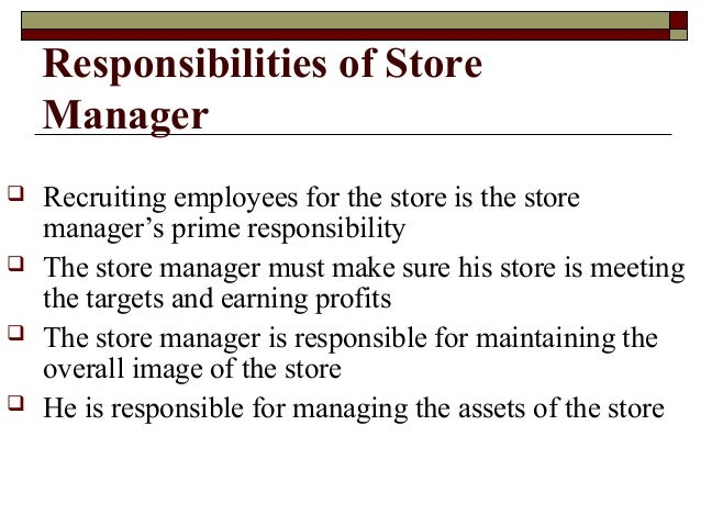store management Managing the fresh market store managers and assistant store managers serve as role models for employees in all departments our managers are dedicated to treating people with respect and dignity in a warm, safe and inclusive environment.