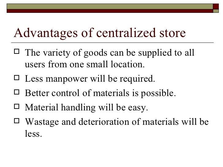 define store keeping