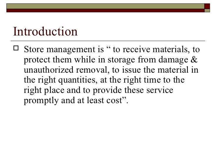 Store management Slide 3