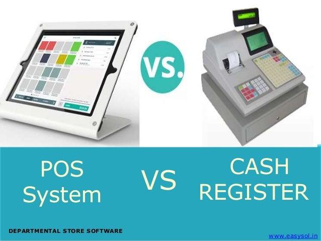 Store Pos System Vs Cash Register