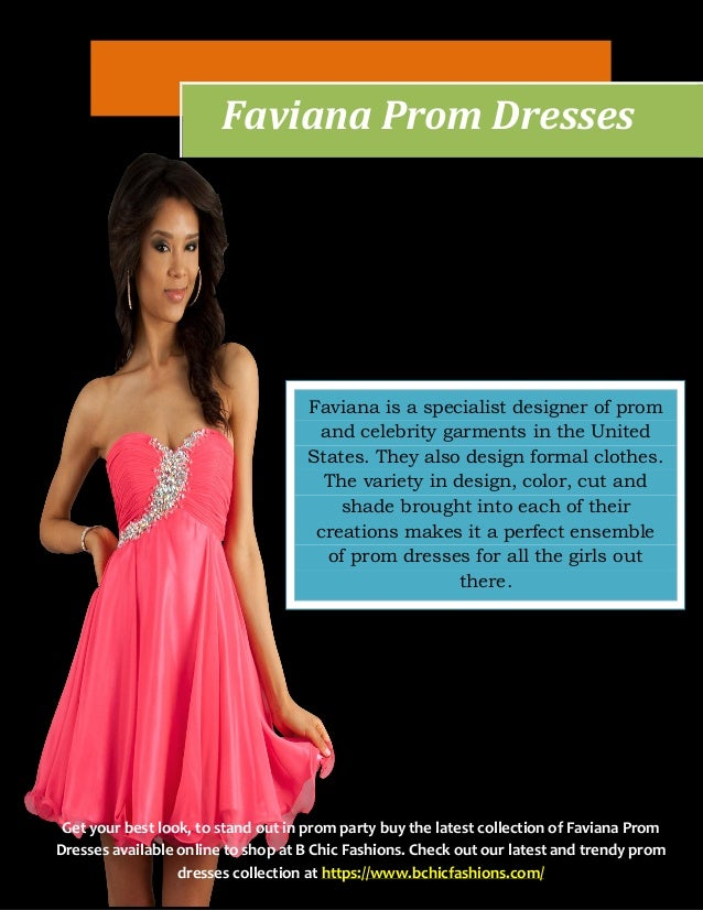 Stores That Sell Faviana Prom Dresses