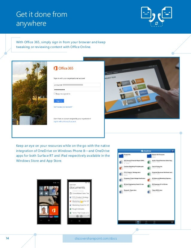 Office 365 Tip: Store, sync & share your content using ...