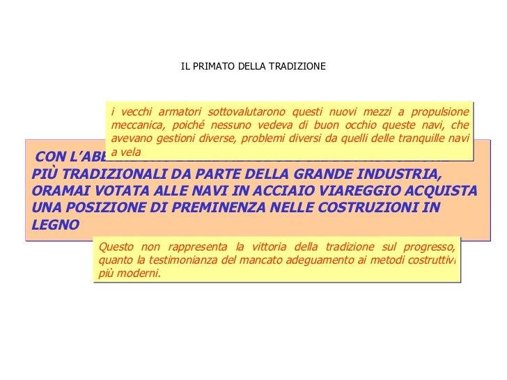 IL PRIMATO DELLA TRADIZIONE CON L'ABBANDONO DELLE METODOLOGIE DI PRODUZIONE  PIÙ TRADIZIONALI DA PARTE DELLA GRANDE INDUST...