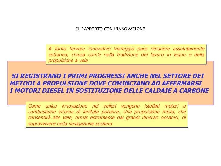IL RAPPORTO CON L'INNOVAZIONE SI REGISTRANO I PRIMI PROGRESSI ANCHE NEL SETTORE DEI  METODI A PROPULSIONE DOVE COMINCIANO ...
