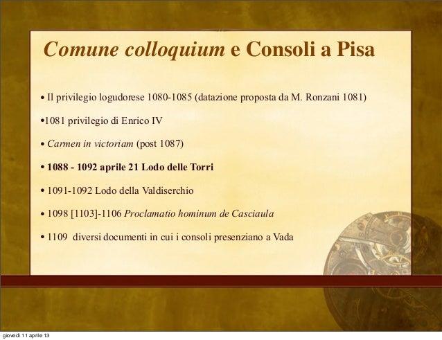 Storia istituzionale del medioevo 4 - Carmen consoli diversi ...