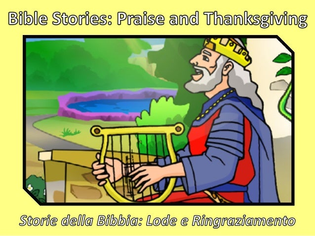 Thanking God for His Goodness King David faced obstacles and difficulties. Each time, though, he overcame through praising...