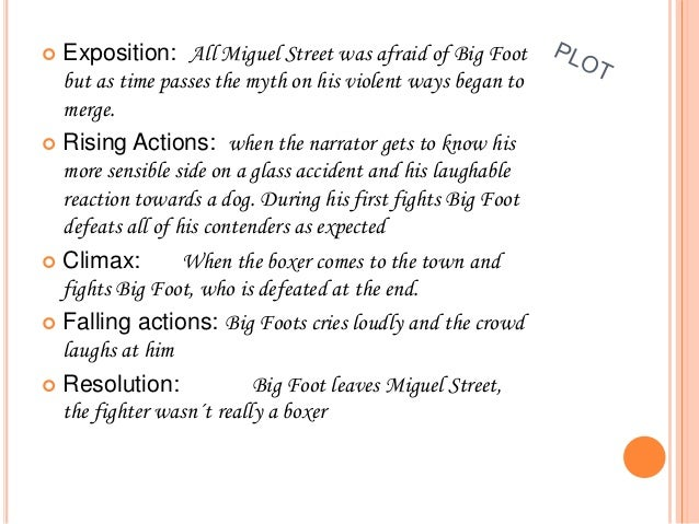 miguel street characters summary
