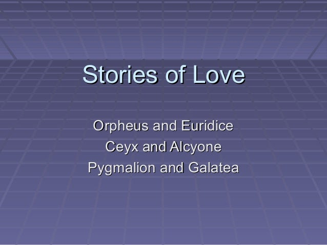 tales of lobes ceyx and alcyone Joseph farrell praised zimmerman for capturing the seriocomic elements of ovid's tales better than in most adaptations: 624 an example is the alcyone and ceyx passage, when the audience learns of ceyx's death long before alcyone does.