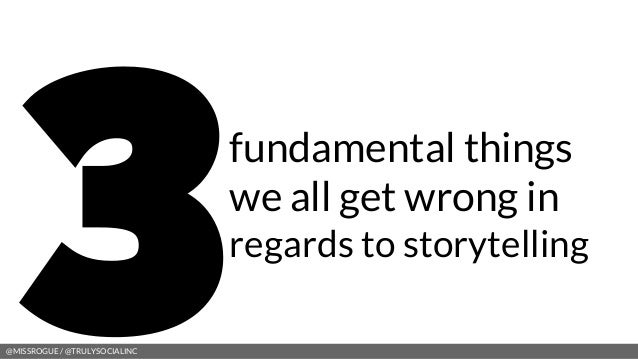 Stories in the Social Era - Presenting to CCO Learning Day (Government of Canada) Slide 3