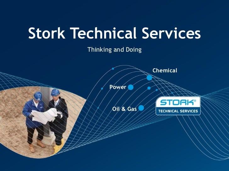 stork technical service business presentation