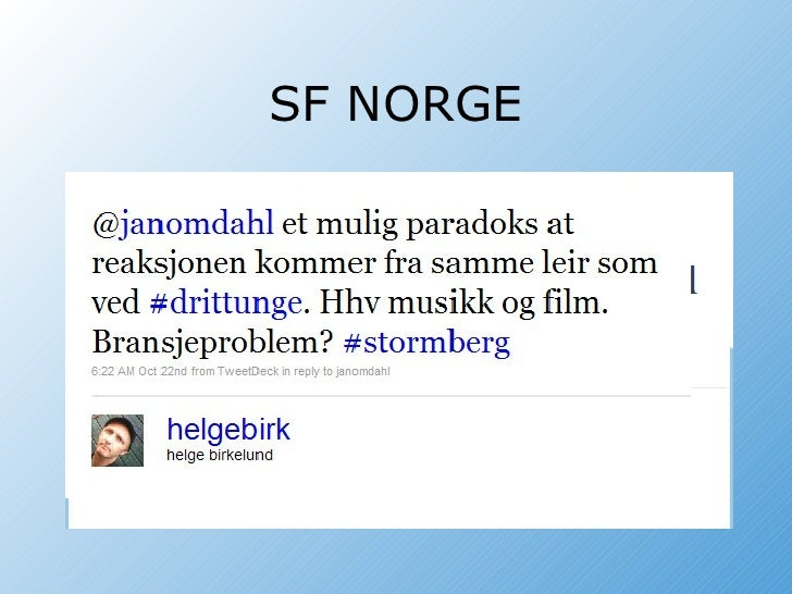 SF NORGE