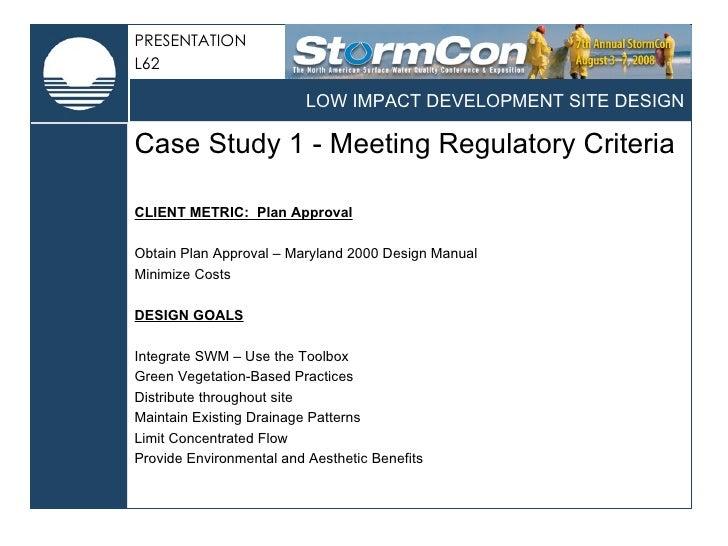 Green Metrics And Stormwater Management Design