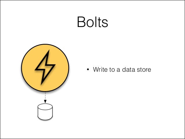 Bolts • Write to a data store