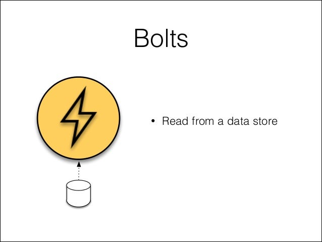 Bolts • Read from a data store