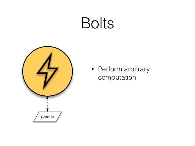 Bolts • Perform arbitrary computation Compute