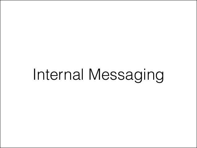 Internal Messaging