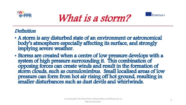Professionals - Storms - Prevention