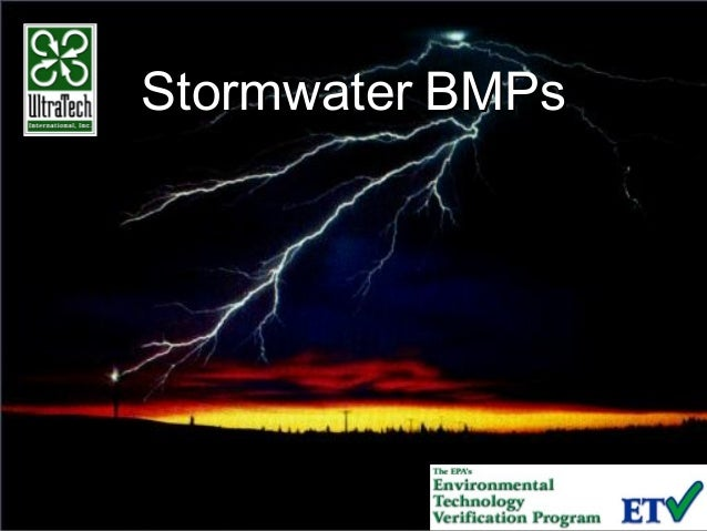 StormwaterStormwater BMPsBMPs