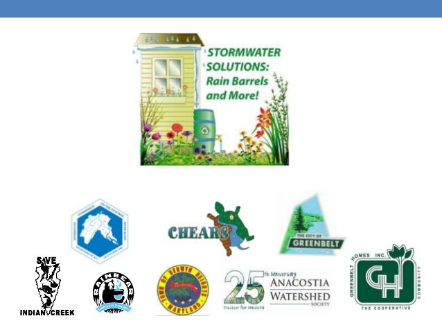Stormwater Solutions • House keeping: • Bathrooms • Water • Recycling • Composting • 10am-12noon: Presentations • 12noon-1...