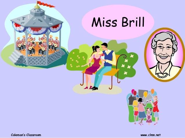 mrs brill summary