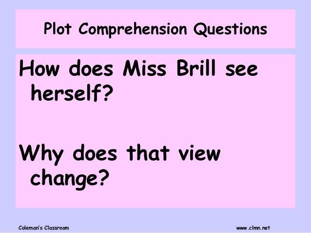 miss brill text