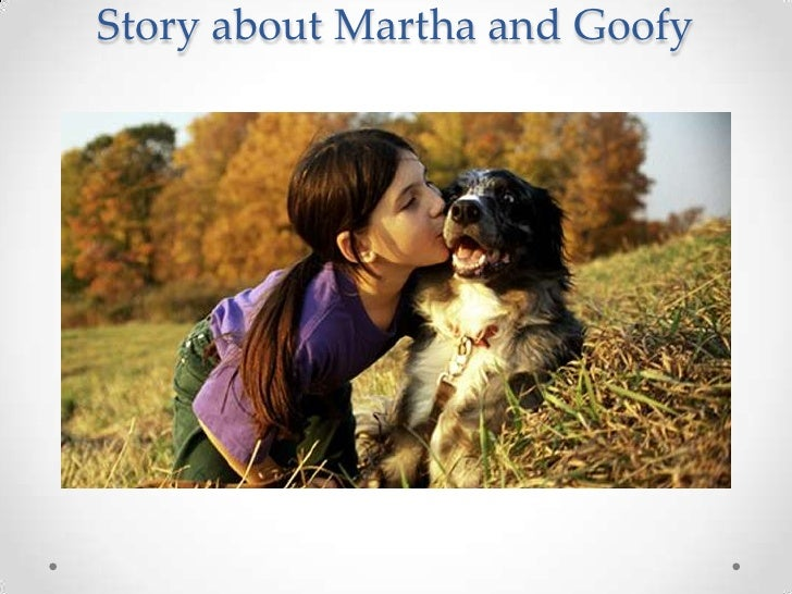 Story about Martha and Goofy