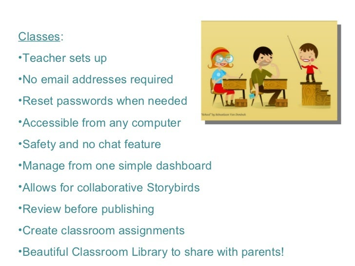 Collaborative Classroom Reviews ~ Creating collaborative storytelling with storybird