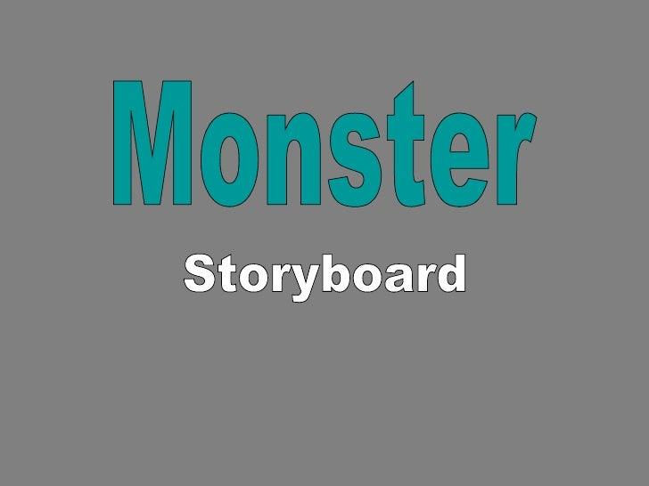 Monster Storyboard