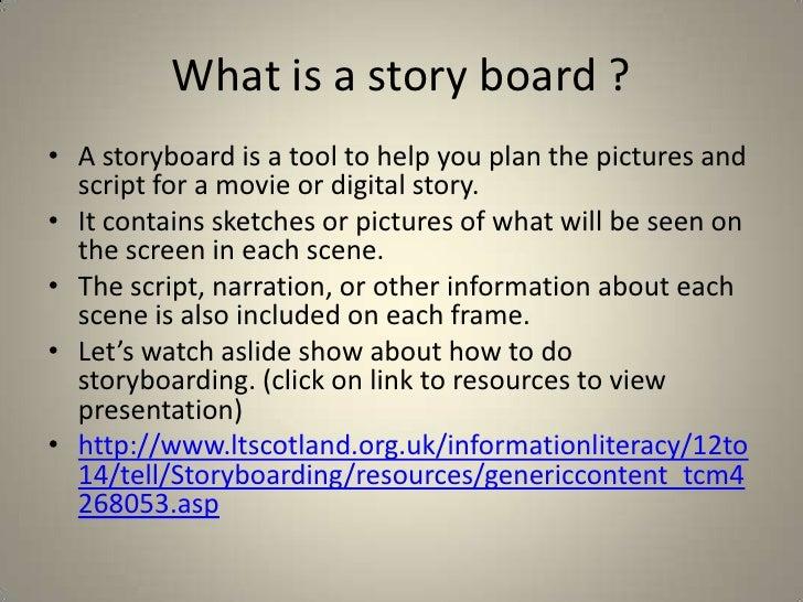 High Quality Storyboard