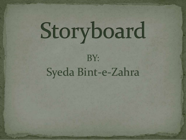 BY: Syeda Bint-e-Zahra