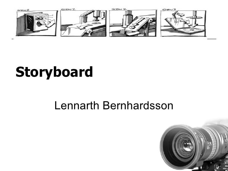 Storyboard Lennarth Bernhardsson