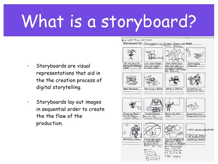 Storyboard Visual Storyboard A Freelance Artist Was Hired To