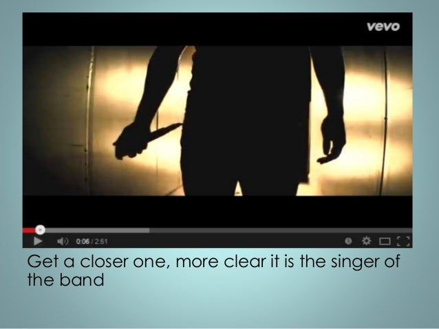 Get a closer one, more clear it is the singer of  the band