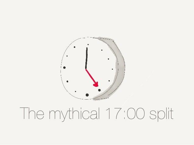 The mythical 17:00 split
