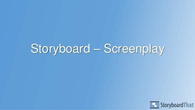 Storyboard – Screenplay