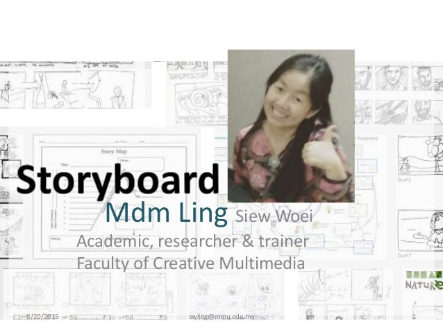 Mdm Ling Siew Woei Academic, researcher & trainer Faculty of Creative Multimedia 8/20/2015 swling@mmu.edu.my 1