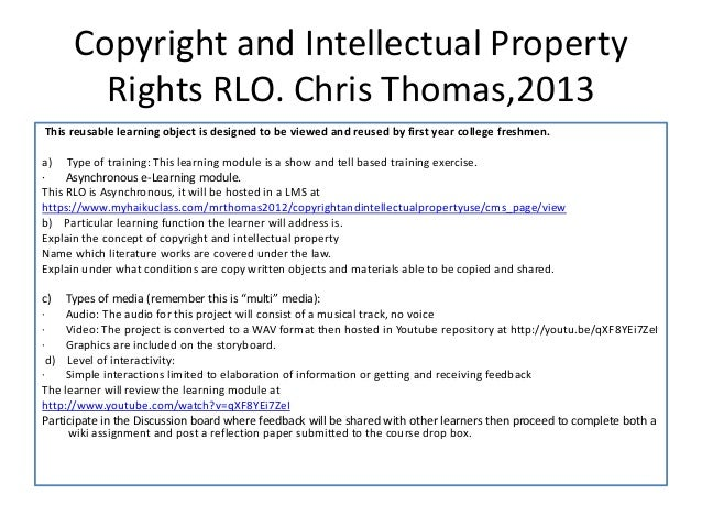 What is Intellectual Property?