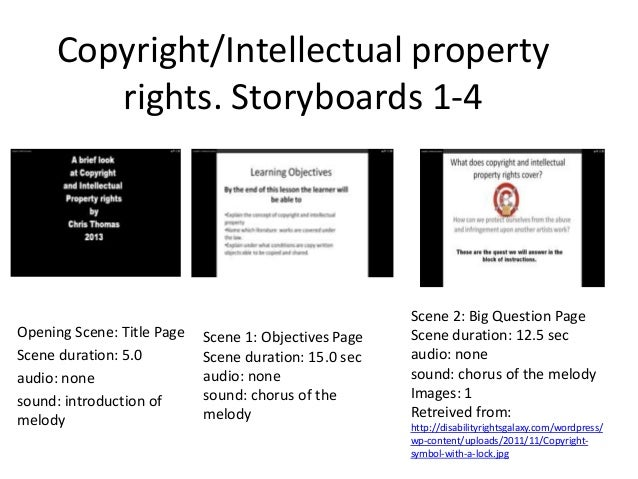 Storyboard And Script Copyright And Intellectual Property Rights